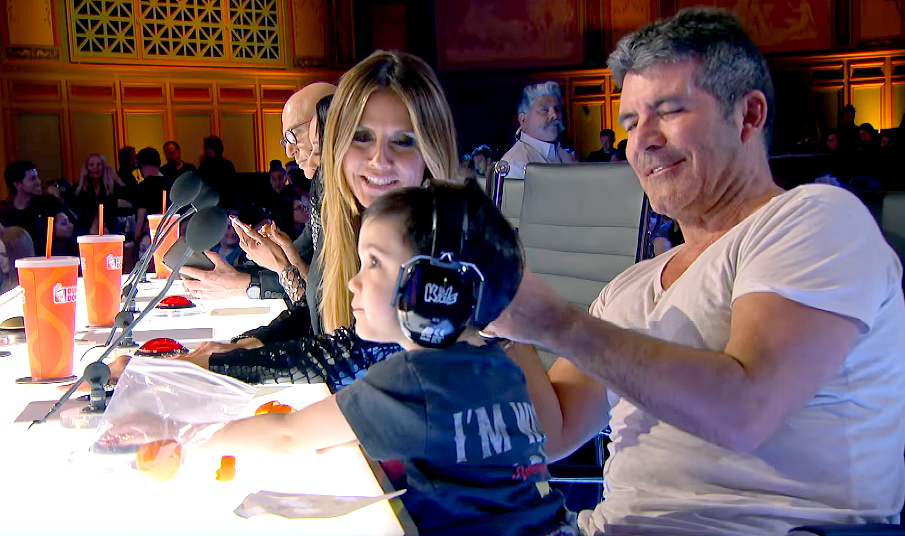 Simon Cowell's Son Steals the Show on 'America's Got Talent'