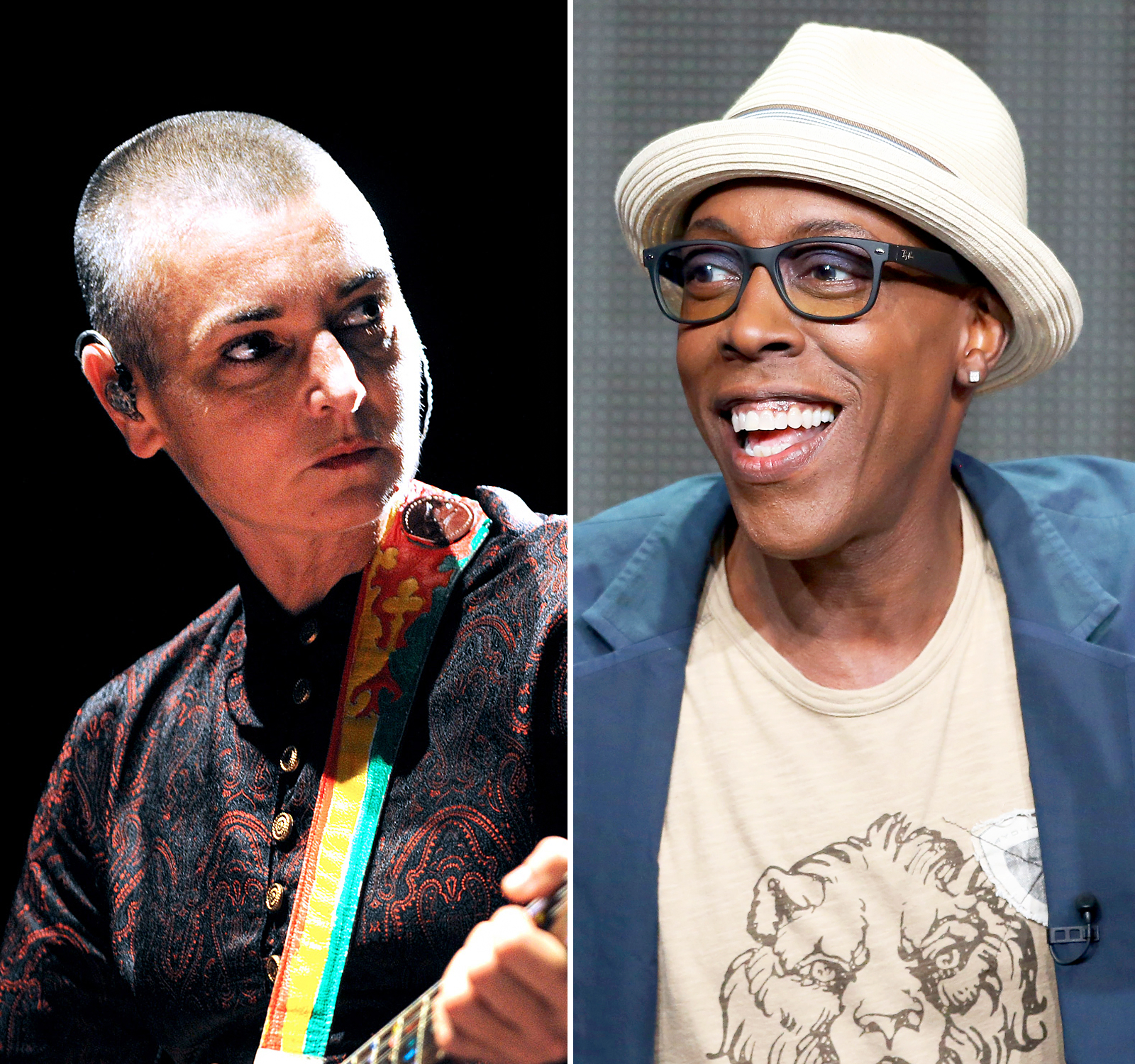 Sinead O'Connor and Arsenio Hall