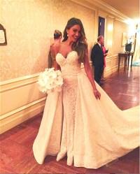 1ff1043b818c Best Celebrity Wedding Dresses as Worn by Kate Middleton, Kim Kardashian,  More