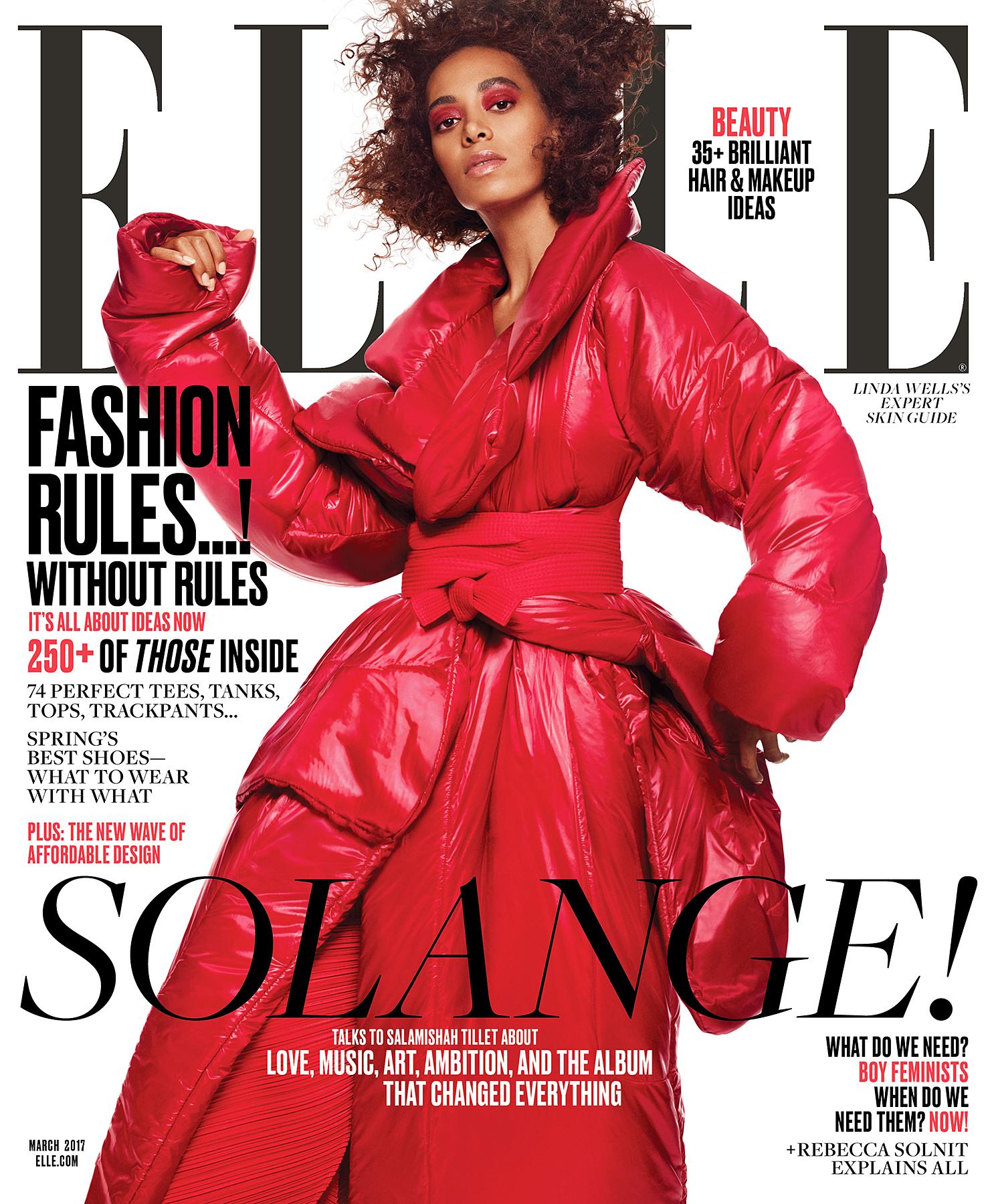 Solange Elle cover