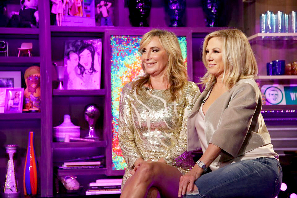 Sonja Morgan On Luann De Lesseps She S Dating A Lot