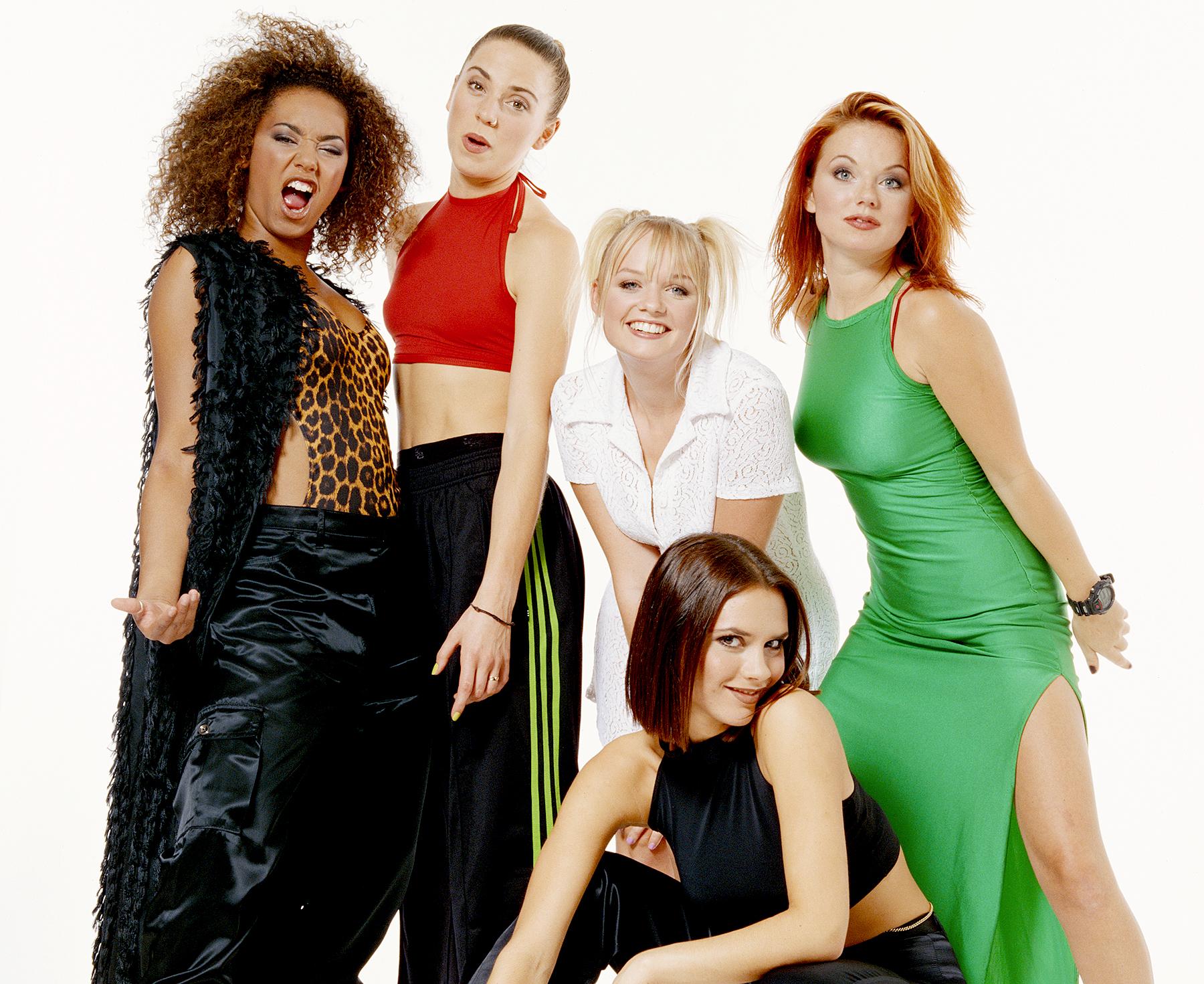 The Spice Girls, circa 1996