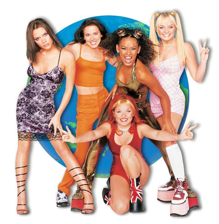 Spice Girls Victoria Beckham Mel B Mel C Emma Bunton Geri Halliwell