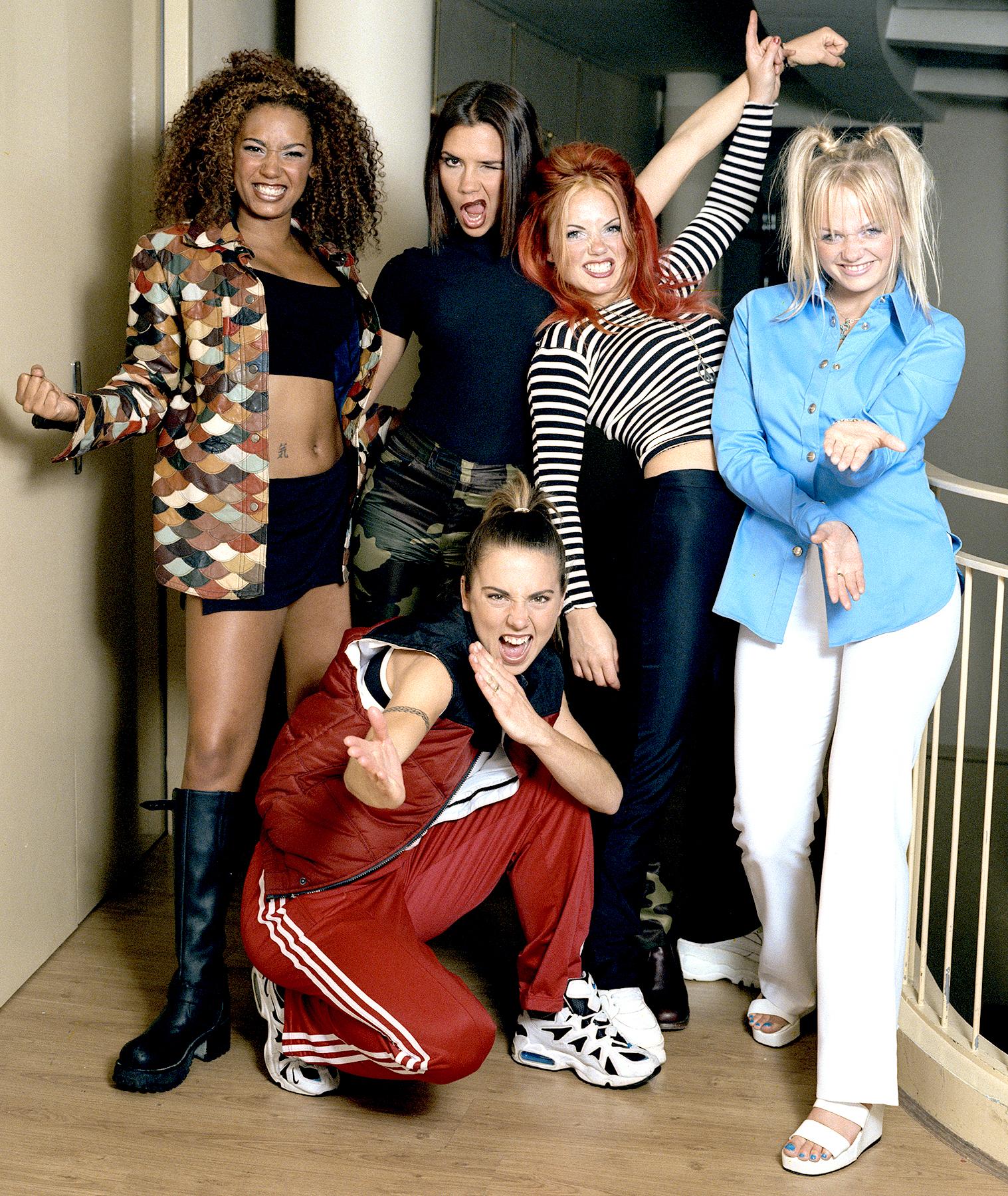 The Spice Girls in September 1996.