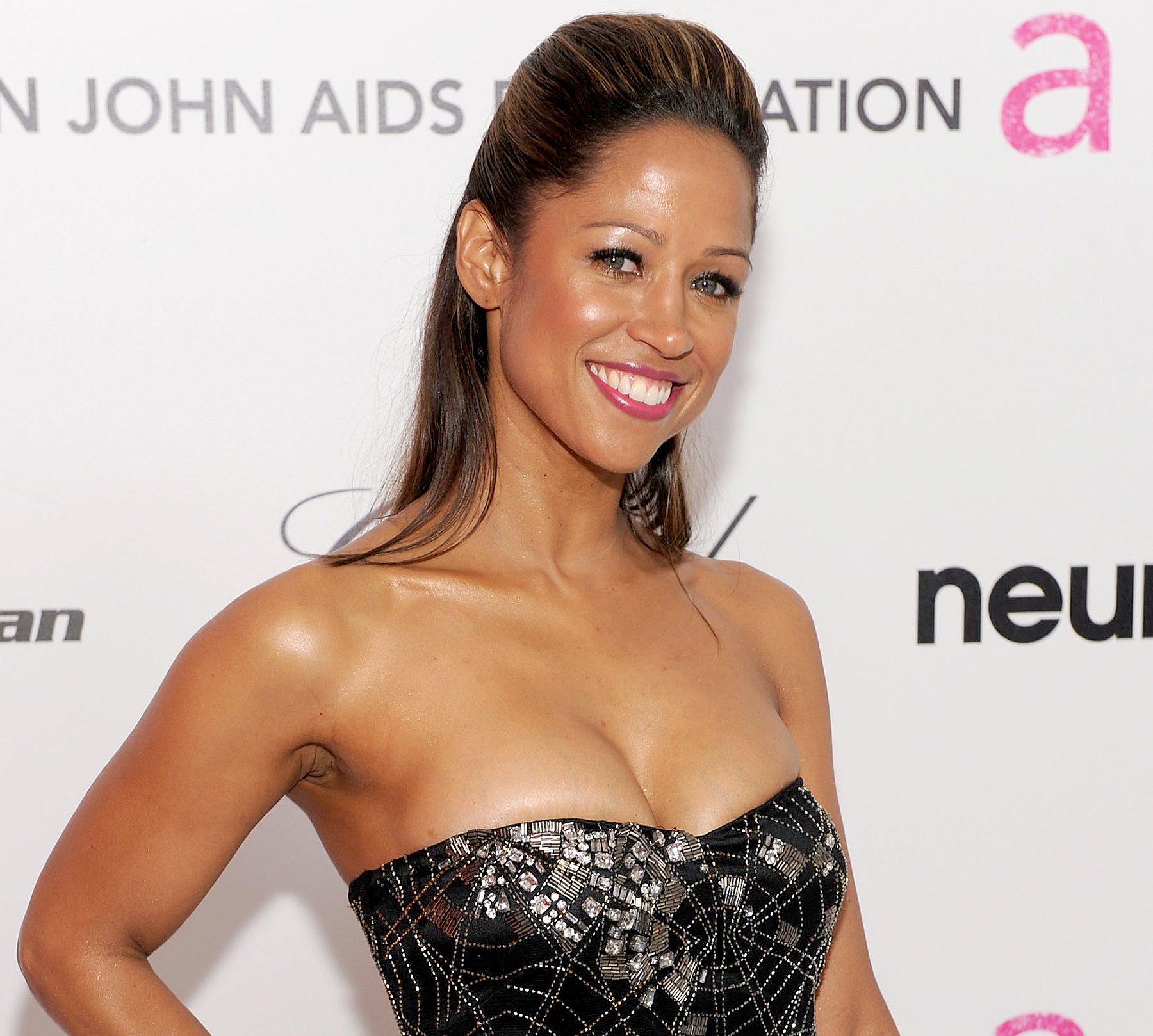Stacey Dash arrives at the 18th Annual Elton John AIDS Foundation Oscar party held at Pacific Design Center on March 7, 2010 in West Hollywood, California.