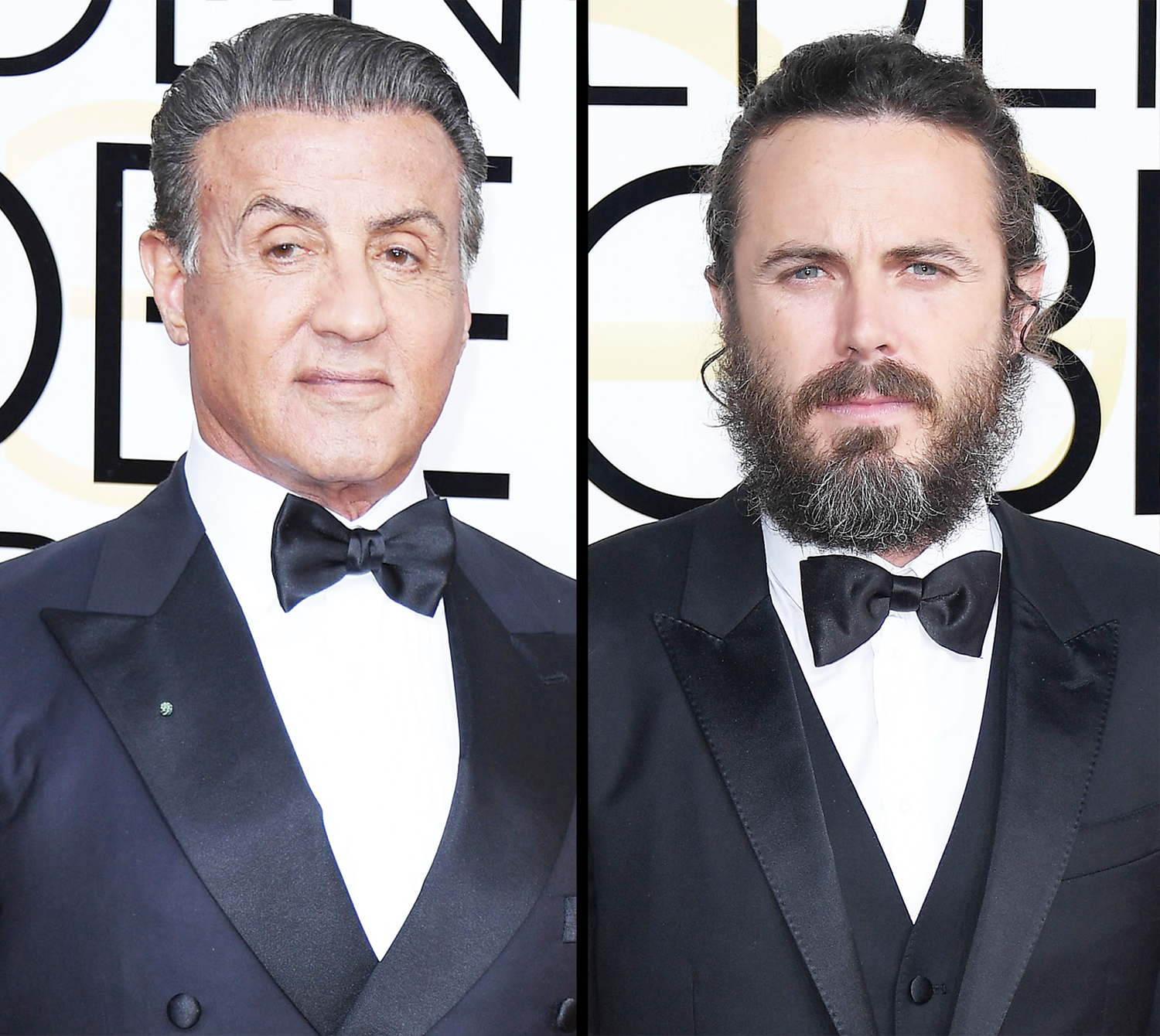 Sylvester Stallone and Casey Affleck