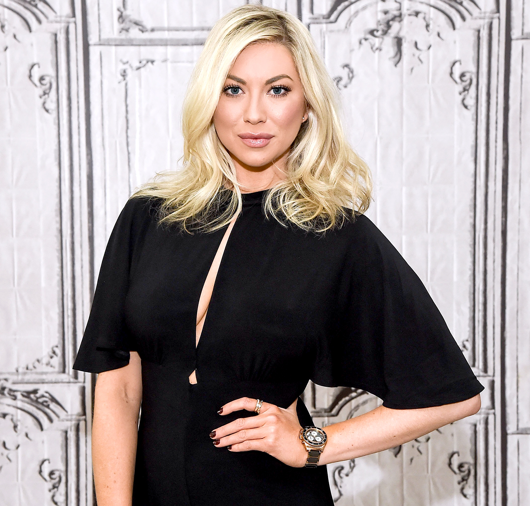 Stassi Schroeder attends AOL Build to discuss her podcast 'Straight Up with Stassi' at AOL HQ on January 9, 2017 in New York City.