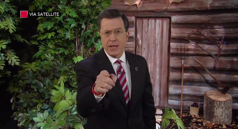 Stephen Colbert Farewells Bill O'Reilly With 'Colbert Report' Character