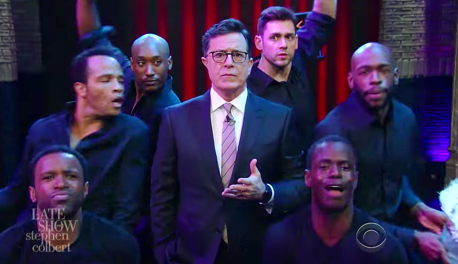 Stephen Colbert parodies Mariah Carey