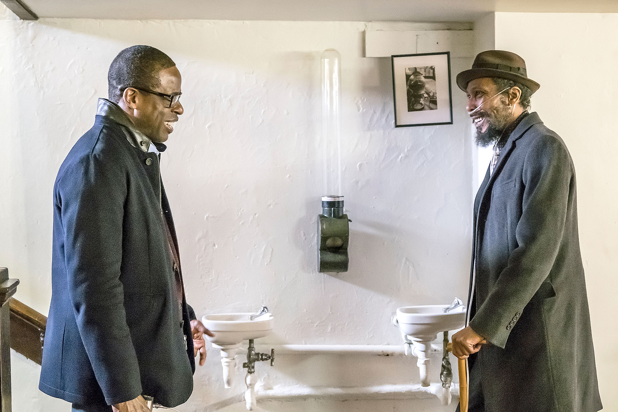 Sterling K. Brown as Randall, Ron Cephas Jones as William
