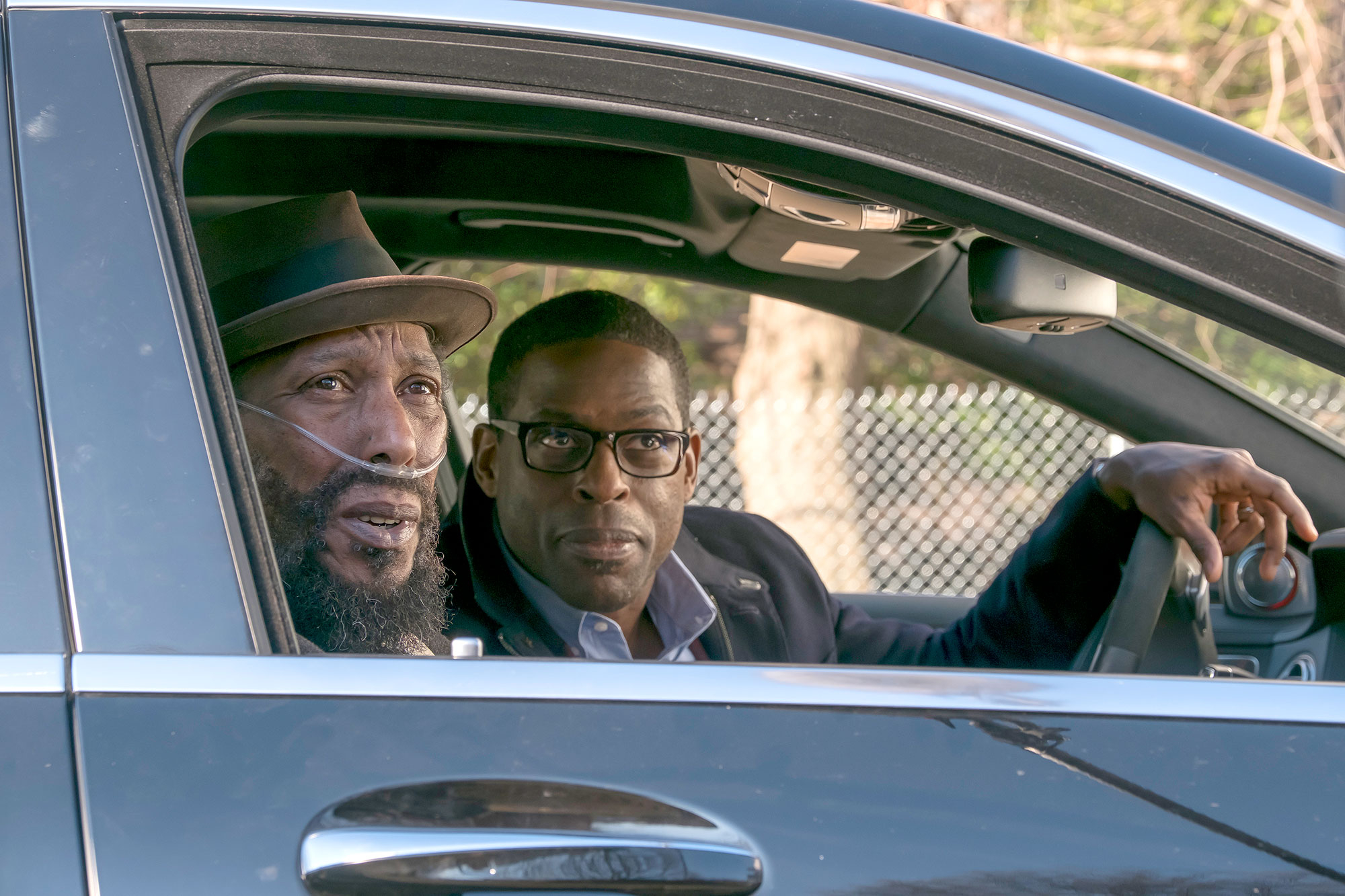 Ron Cephas Jones as William, Sterling K. Brown as Randall