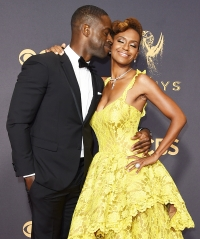 Sterling K. Brown Ryan Michelle Bathe Emmys 2017 PDA