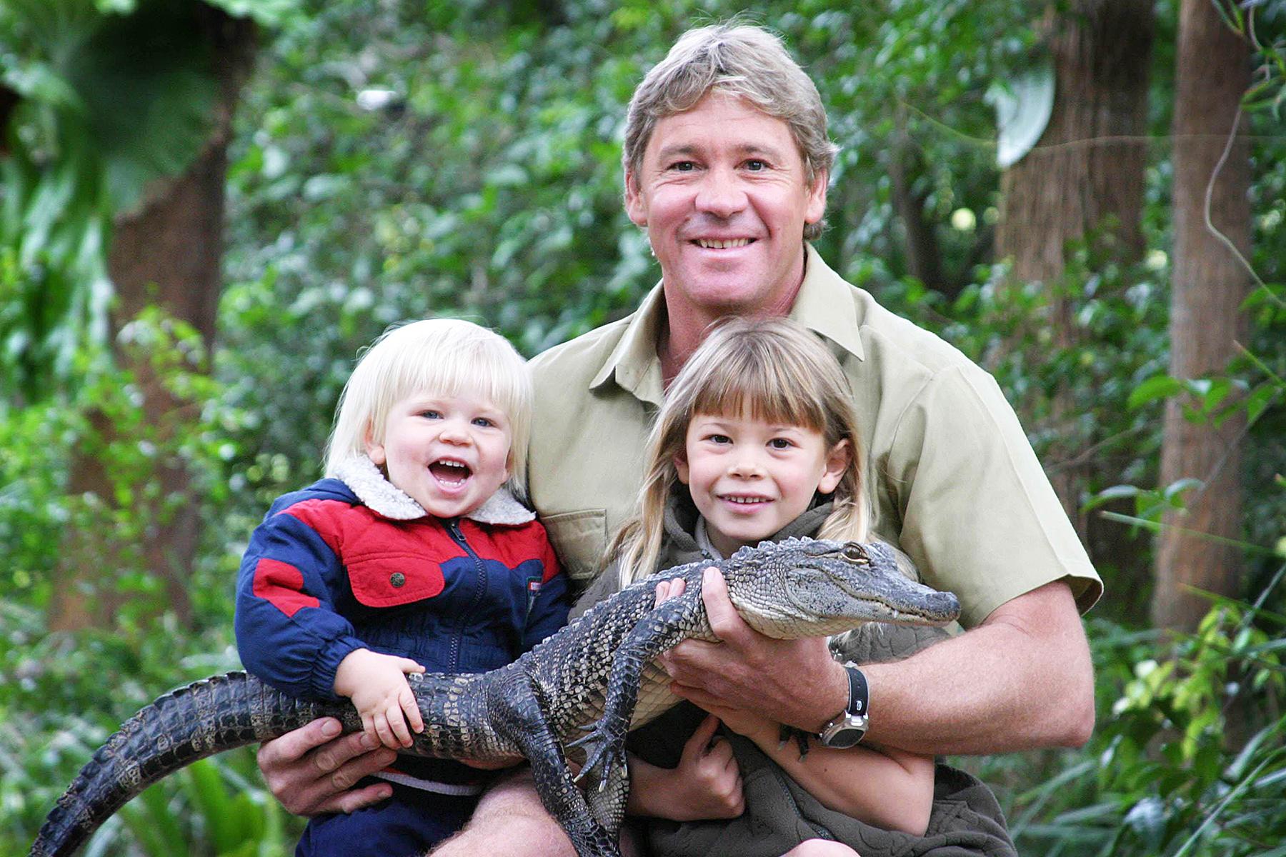 Robert Irwin Steve Irwin Bindi Irwin