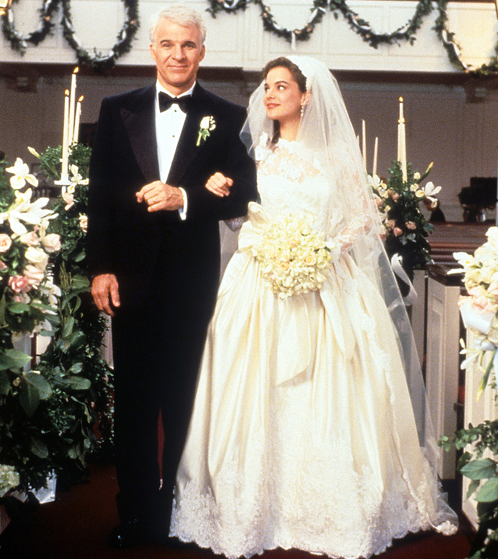 Steve Martin Kimberly Williams Father of The Bride