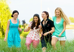 Alexis Bledel, America Ferrera, Amber Tamblyn and Blake Lively Sisterhood of the Traveling Pants