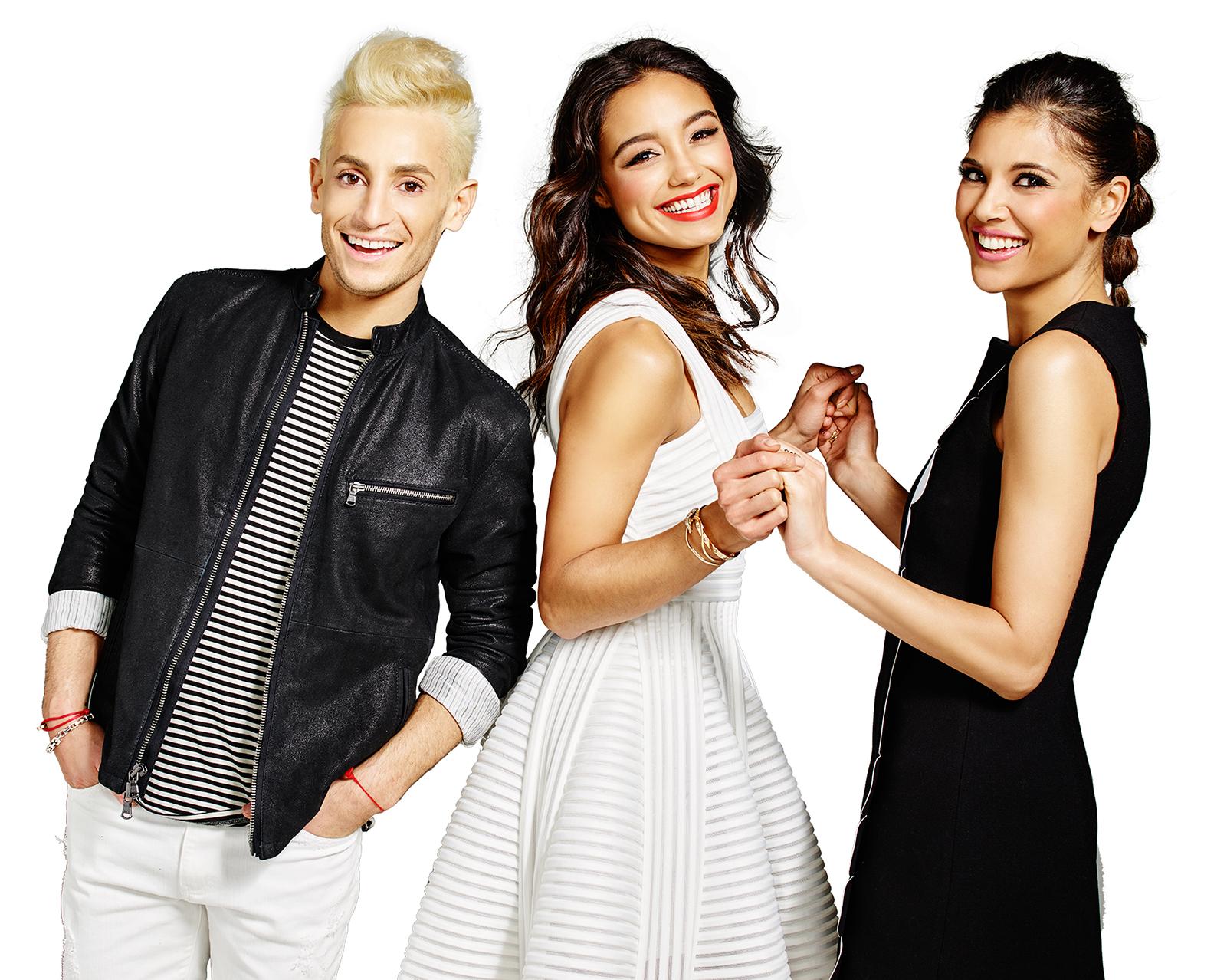 Frankie Grande, Rachel Smith and Lyndsey Rodrigues