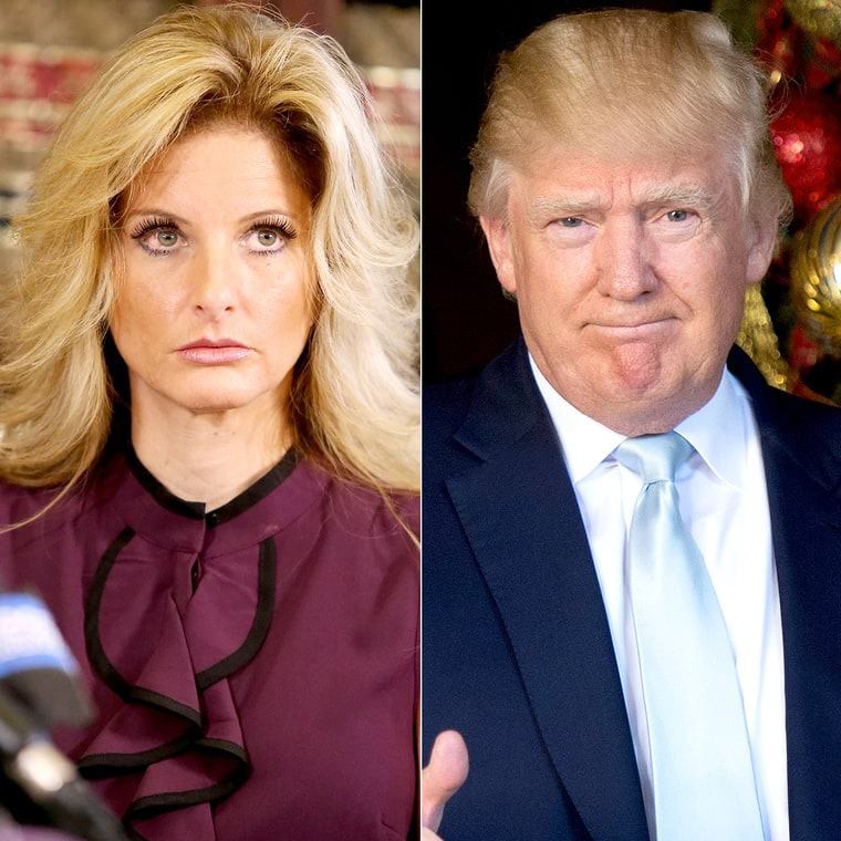 Summer Zervos and Donald Trump