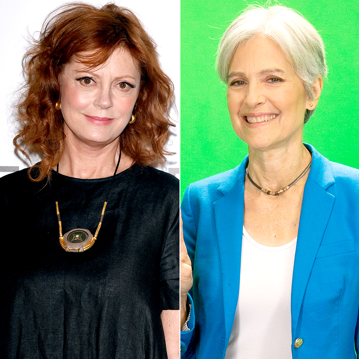 Susan Sarandon and Jill Stein