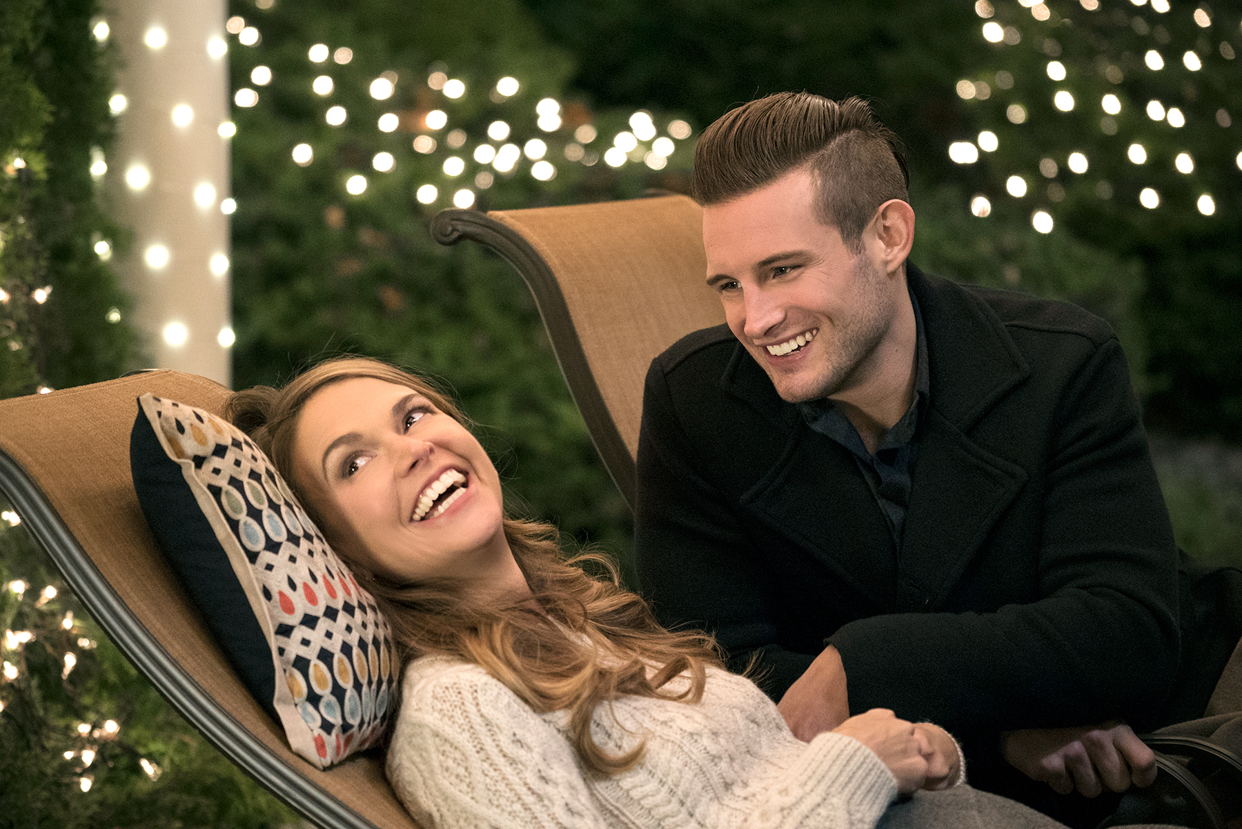 Sutton Foster and Nico Tortorella on Younger.