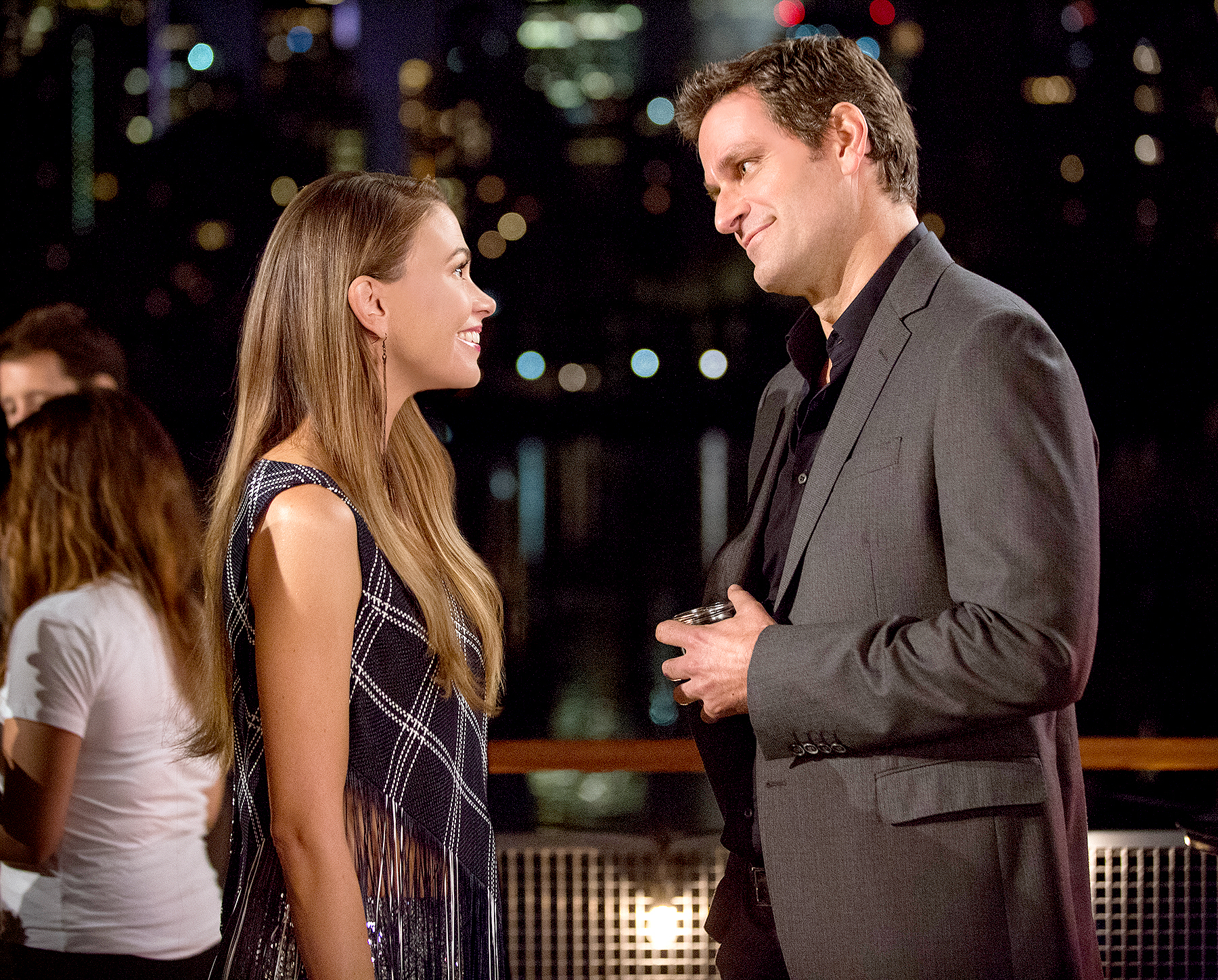 Sutton Foster and Peter Hermann on Younger.