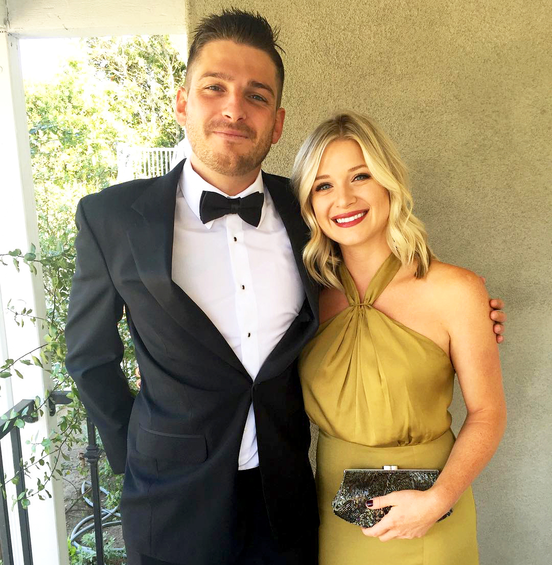 Talan Torriero and Danielle