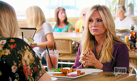 Tamra at lunch with Briana