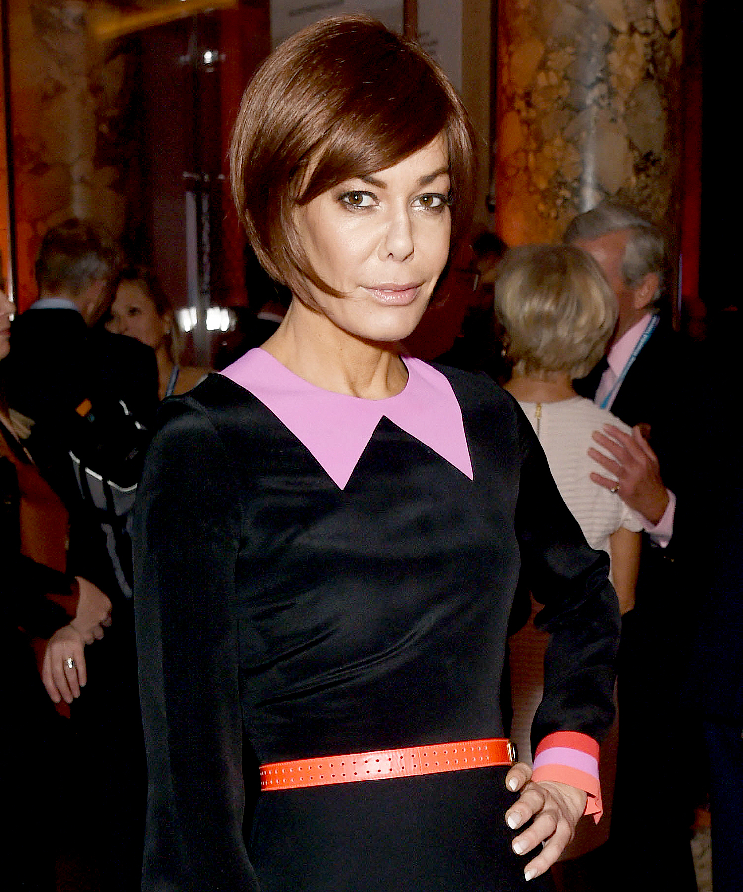 Tara Palmer-Tomkinson attends as Supporting Wounded Veterans and Skiing With Heroes host a private view of