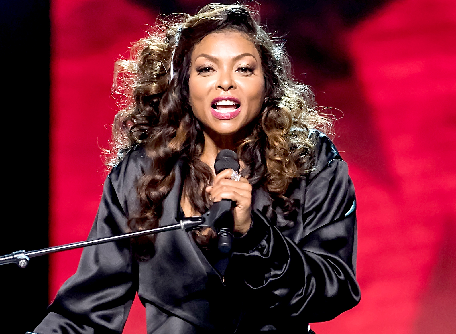 Taraji P. Henson performs onstage during Black Girls Rock! 2017 at New Jersey Performing Arts Center on August 5, 2017 in Newark, New Jersey.