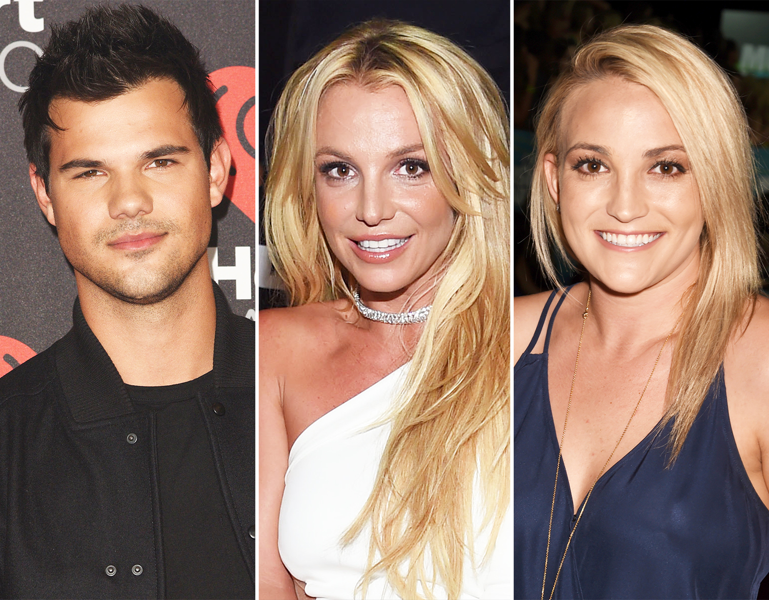 Taylor Lautner, Britney Spears and Jamie Lynn Spears