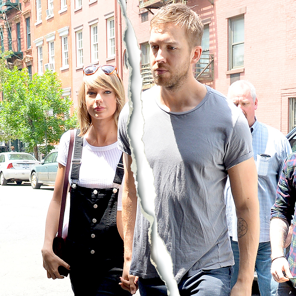 Taylor Swift, Calvin Harris Split After More Than a Year Together