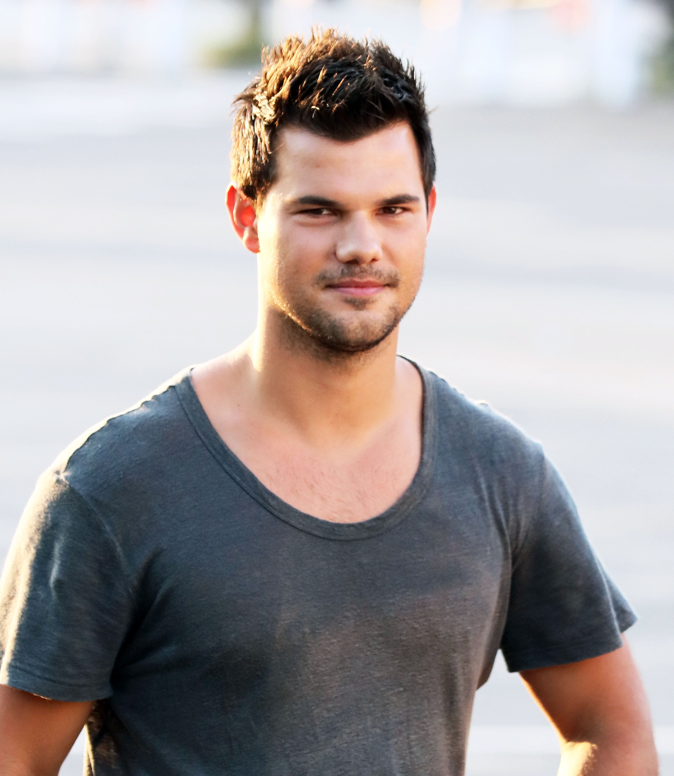 Taylor Lautner Dyed His Hair for 'Scream Queens': Pic Taylor Lautner