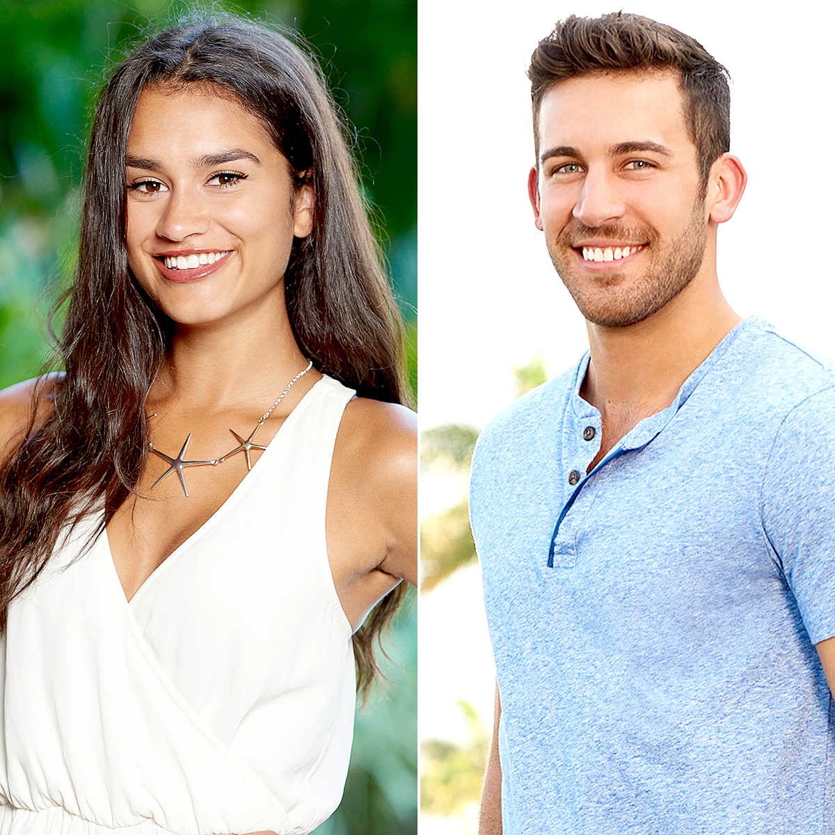 Taylor and Derek on Bachelor In Paradise.