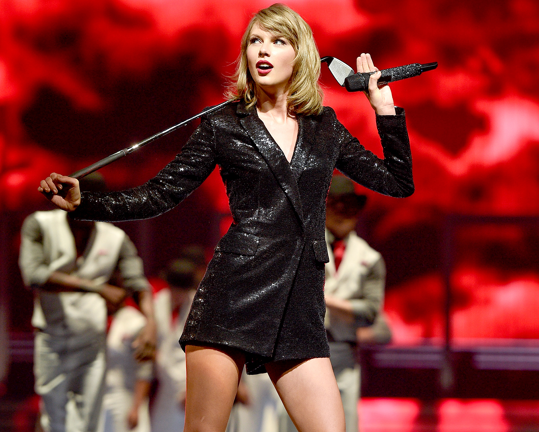 Taylor Swift performs during the '1989' world tour at Canadian Tire Centre in Kanata, Canada, on July 6, 2015.
