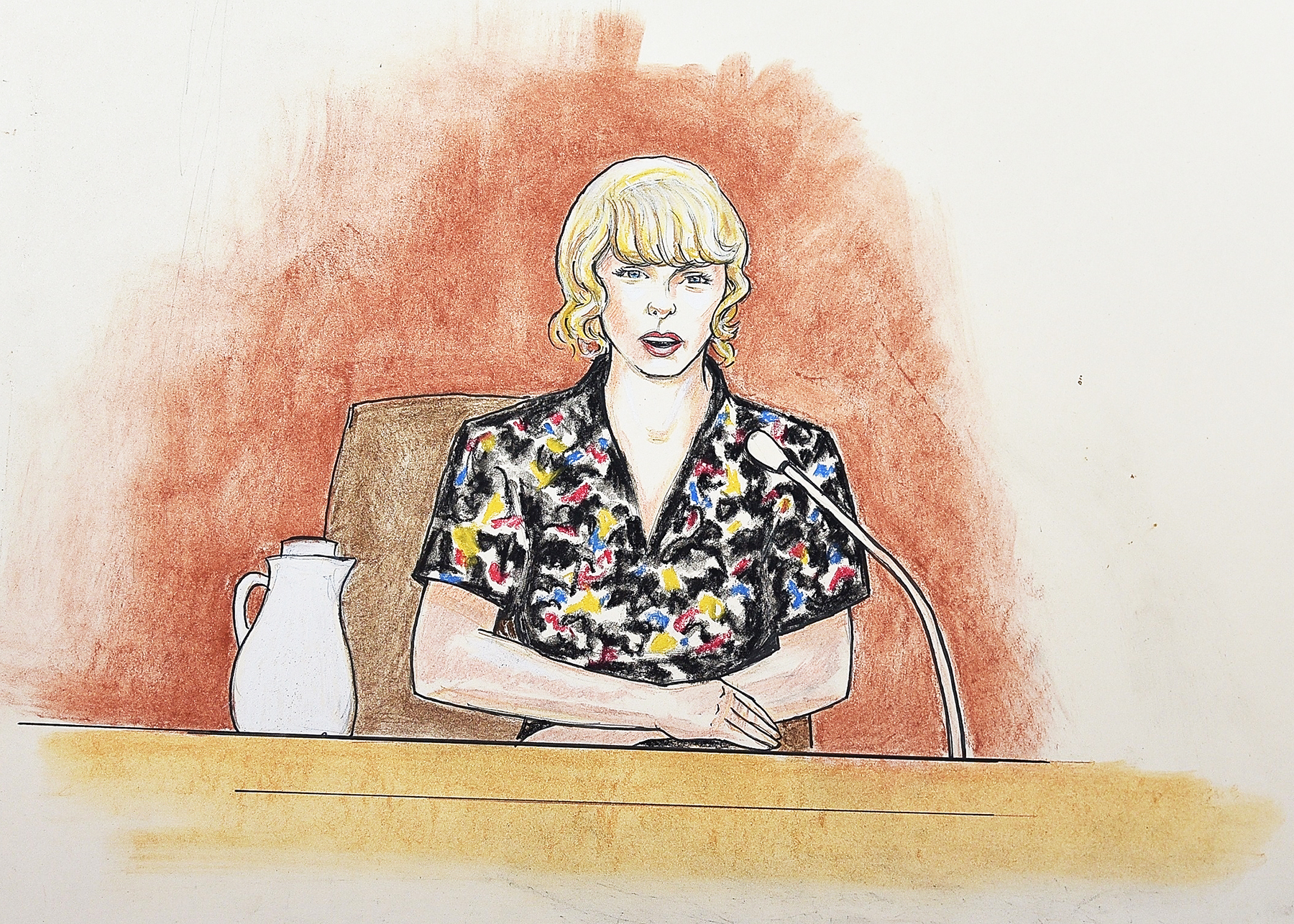 Taylor Swift courtroom trial