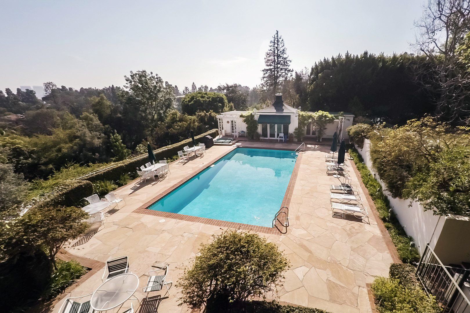 Taylor Swift Beverly Hills mansion house pool