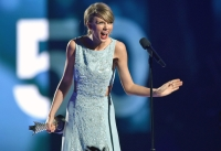 Taylor Swift, Surprised Face, Milestone Award, 50th Academy Of Country Music