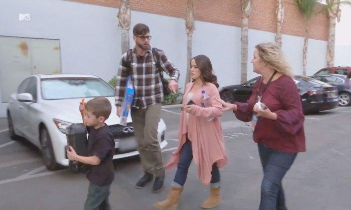 Jenelle Evans Mom Fears David Eason Abuse Teen Mom 2