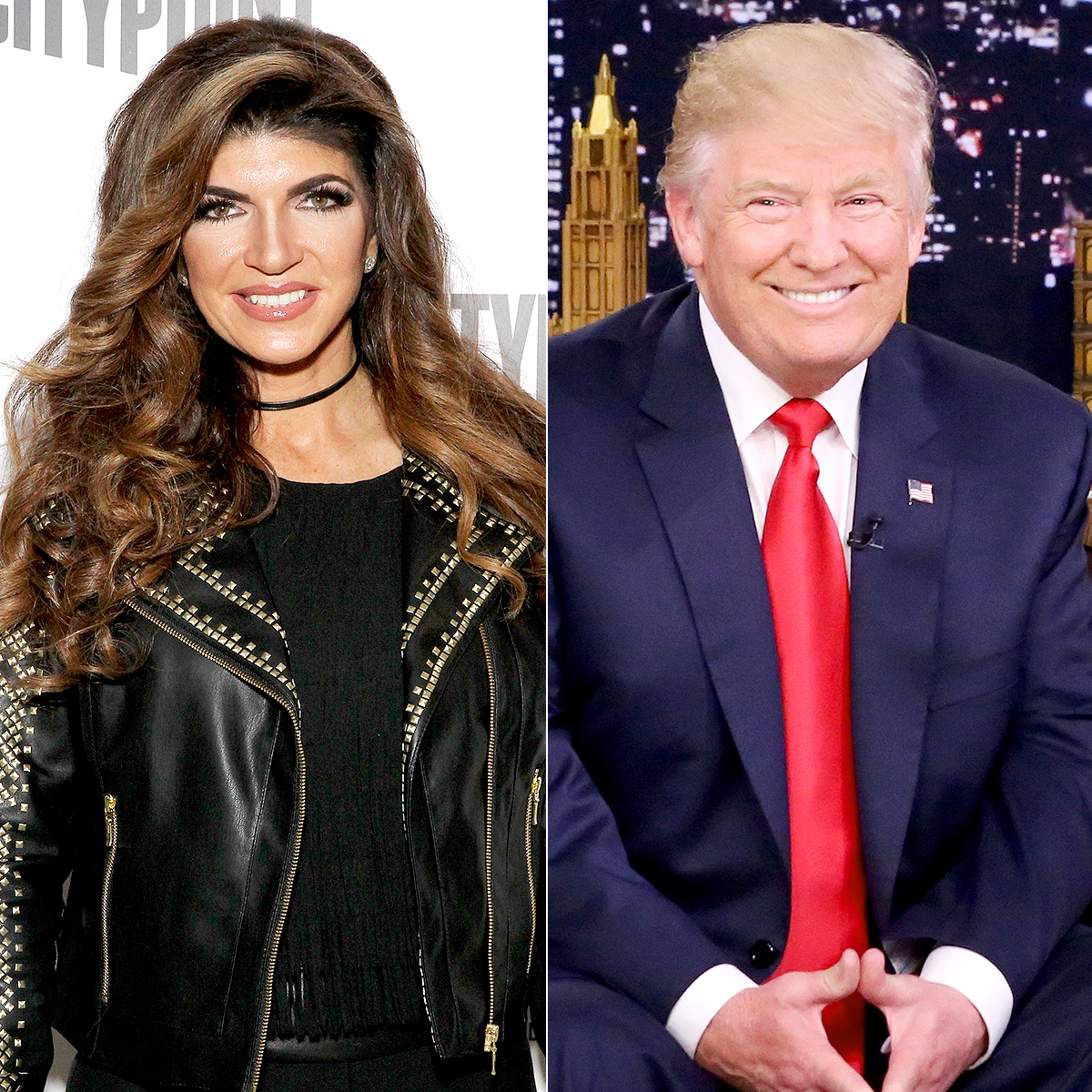 Teresa Giudice and Donald Trump