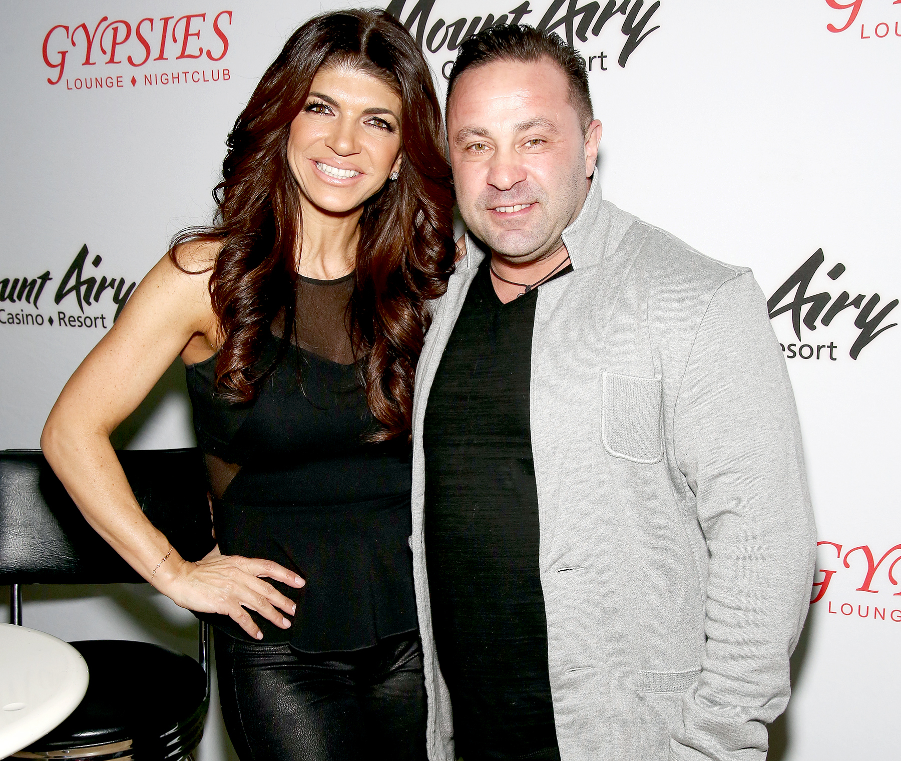 Teresa Giudice, star of The Real Houswives of New Jersey, and Joe Giudice appears at Mount Airy Resort Casino for a book signing and meet and greet on March 5, 2016 in Mount Pocono City.