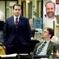 Steve Carell; Rainn Wilson; Paul Giamatti