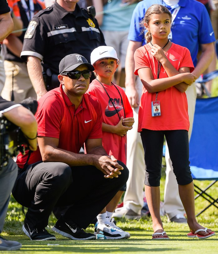 Tiger Woods Opens Up About His Kids With Ex Elin Nordegren