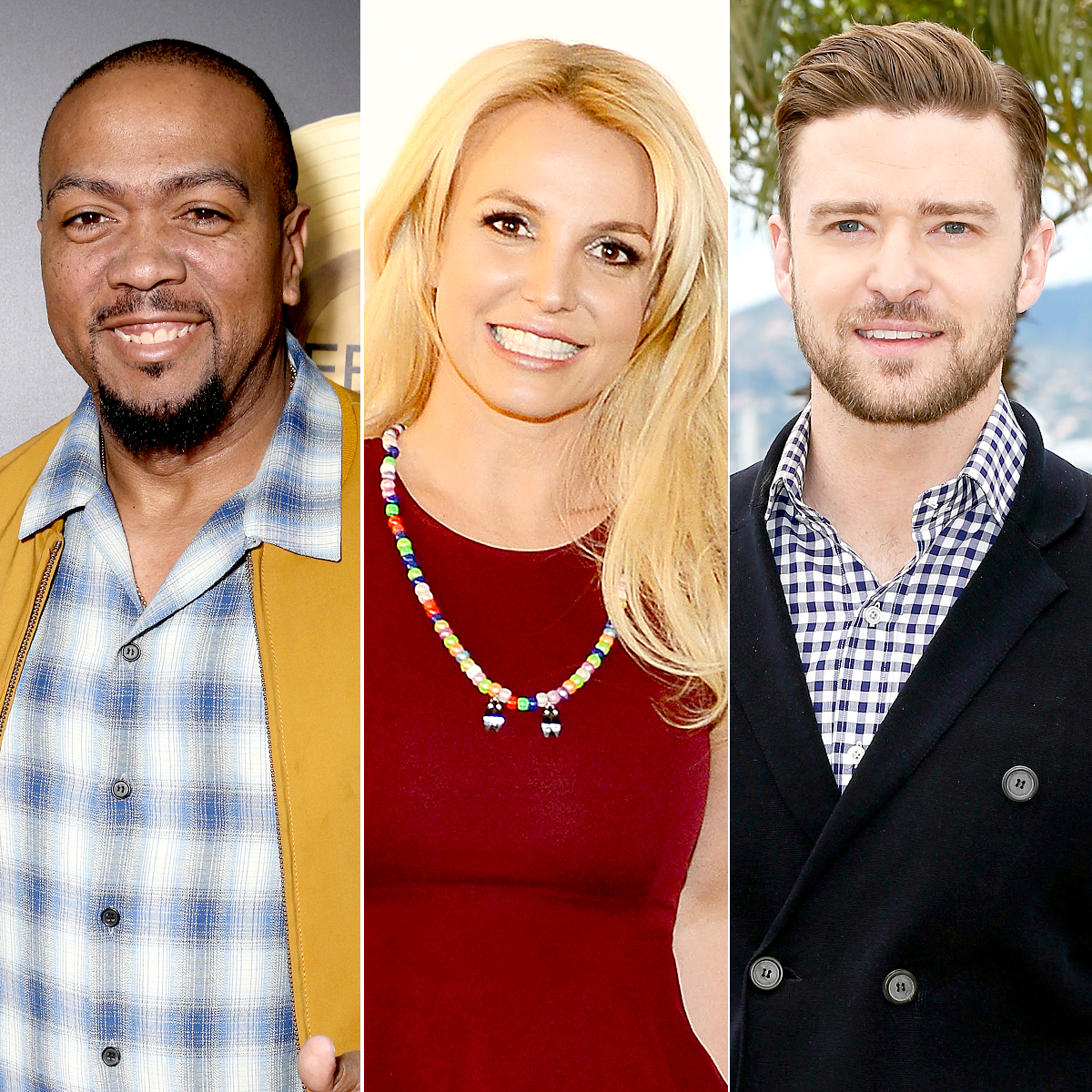 Timbaland, Britney Spears, and Justin Timberlake