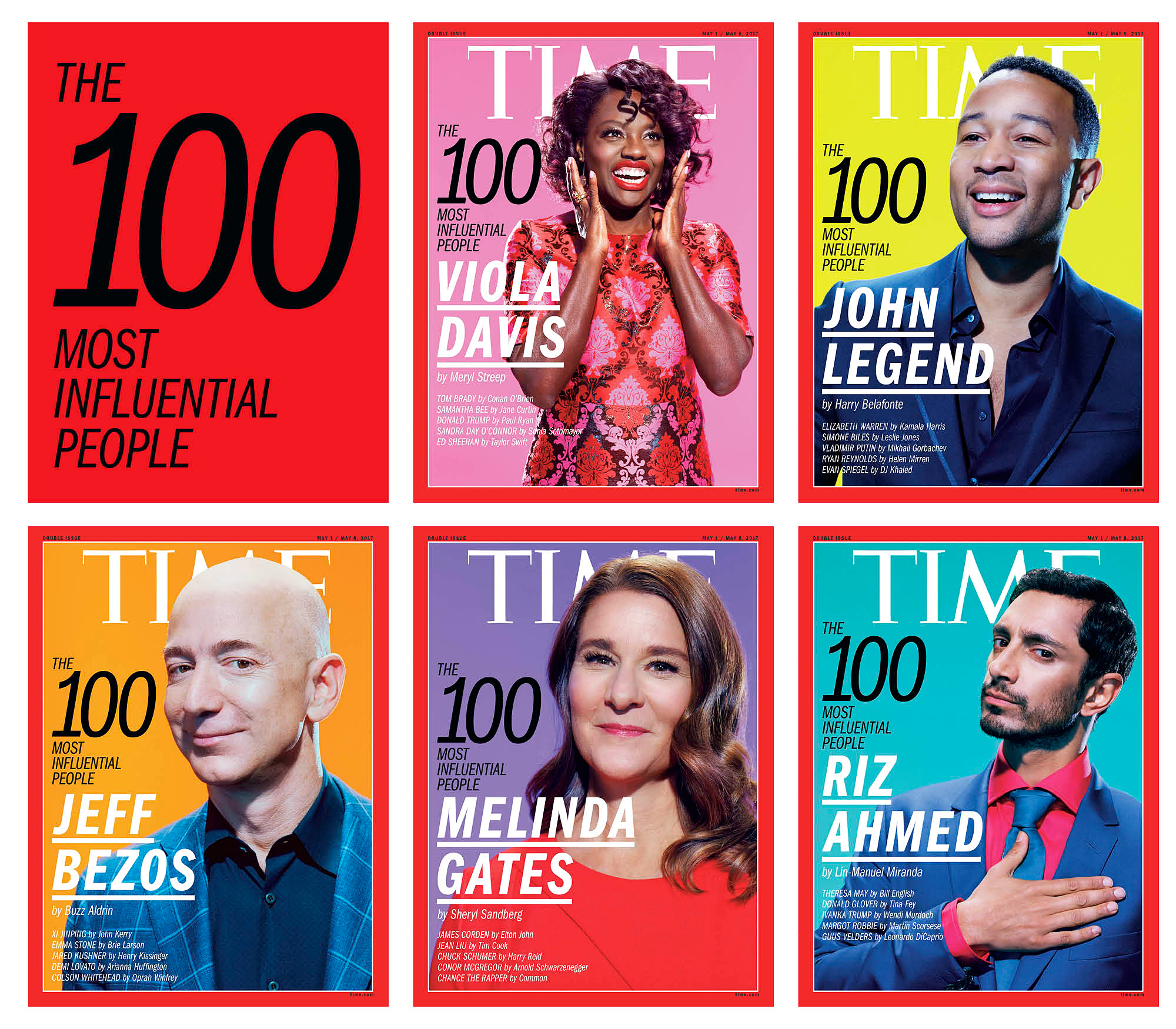Time's '100 Most Influential People in the World' List