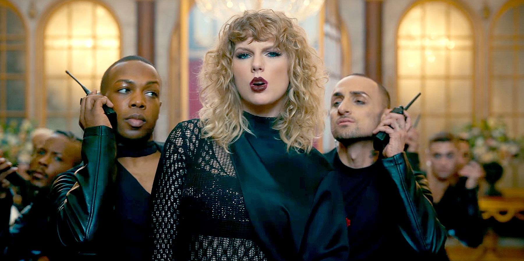 Todrick Hall and Taylor Swift in 'Look What You Made Me Do'