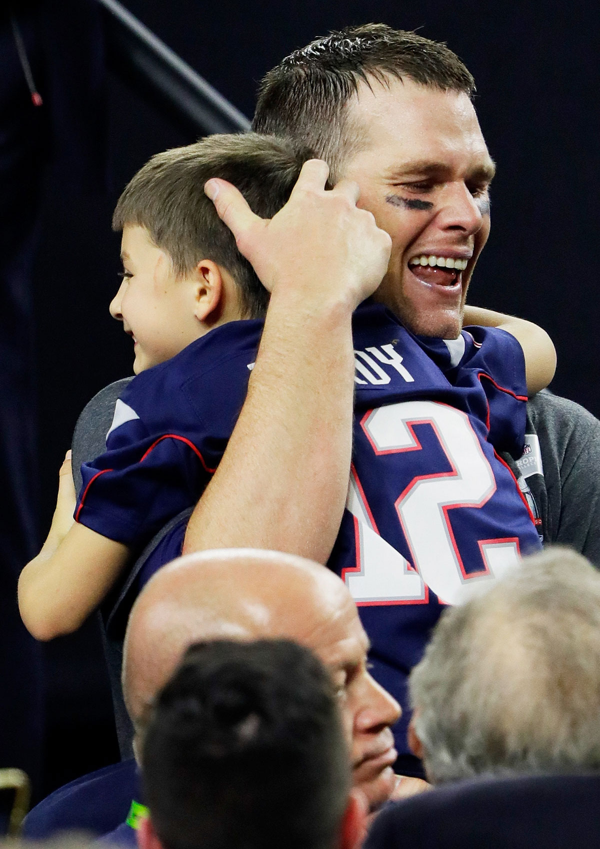 Tom Brady Breaks Down in Tears With His Family After Super Bowl Win