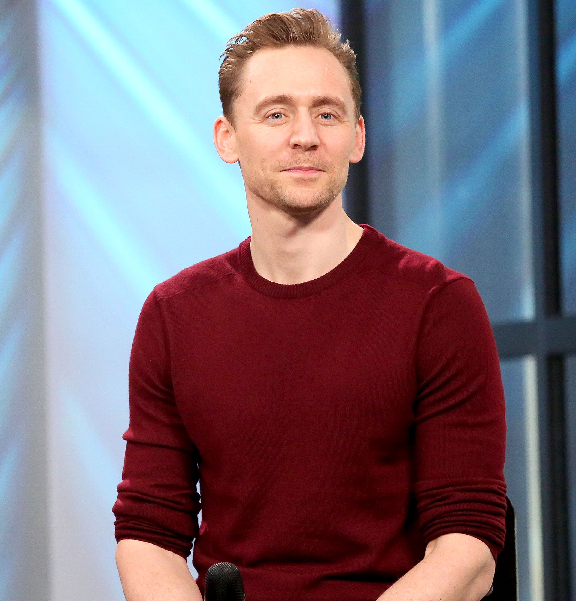 "Tom Hiddleston discusses his new film, ""Kong: Skull Island"" during the Build Series at Build Studio on March 6, 2017 in New York City."