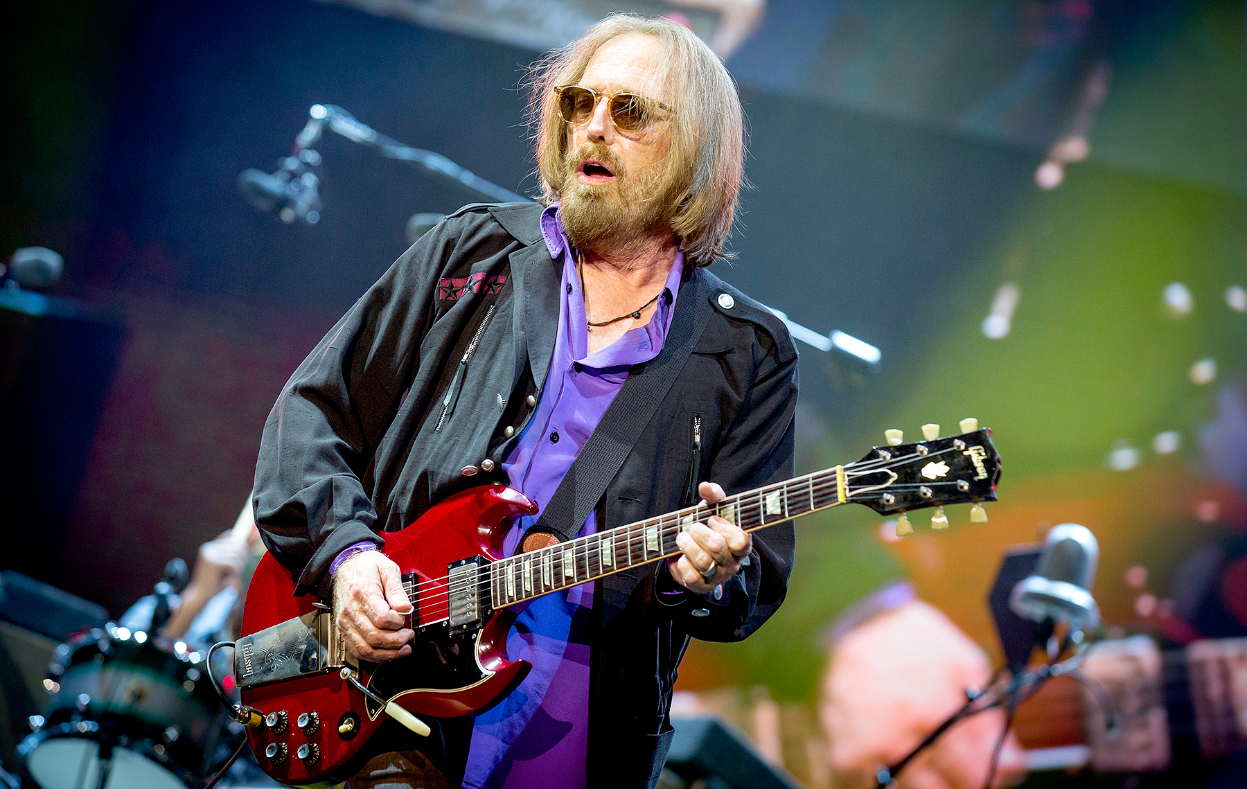 Tom Petty performs on Day 10 of the RBC Bluesfest in Ottawa, Canada, on July 16, 2017.