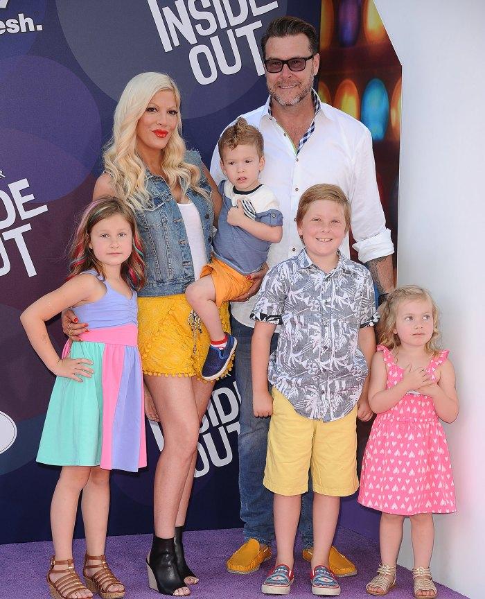 Tori, Dean Spelling and kids