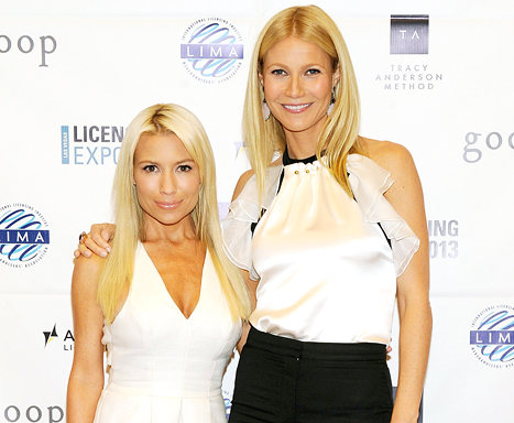tracy anderson and gwyneth paltrow
