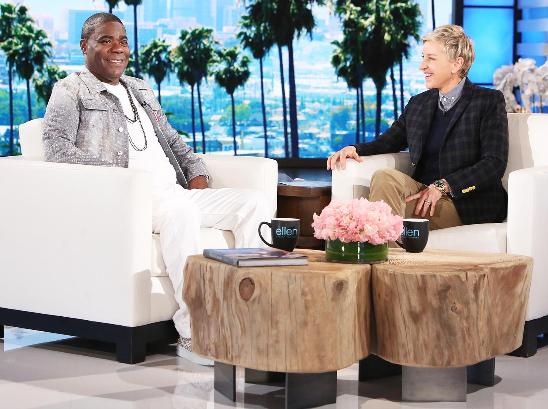 Tracy Morgan and Ellen DeGeneres